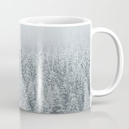 snow  forest winter trees Coffee Mug