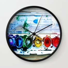 forrest's paint Wall Clock