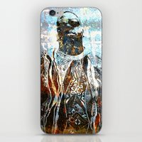 biggie smalls iPhone & iPod Skins featuring Biggie by Quil Soul