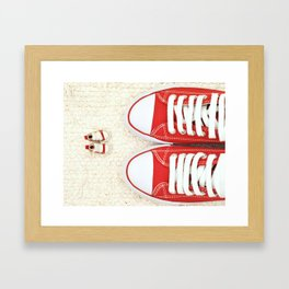 Big and Small Framed Art Print