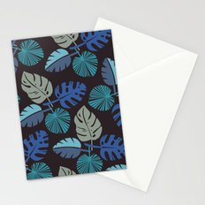 Blue Frond Stationery Cards
