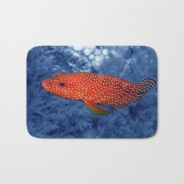 Coral Trout Bath Mat