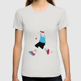 Invisible jogger T-shirt