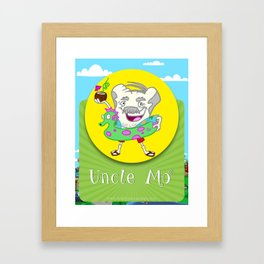 Uncle Mo Framed Art Print