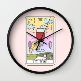 WINE READING Wall Clock