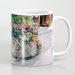 Bike & Flowers Munich Coffee Mug