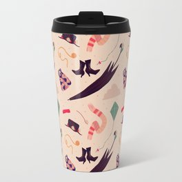 Practically Perfect Pattern Travel Mug