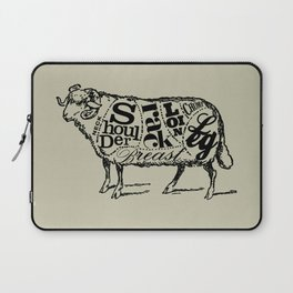 Mutton Cuts Laptop Sleeve