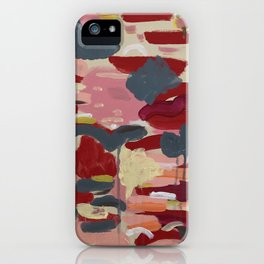 Sunsets and Flower Fields iPhone Case