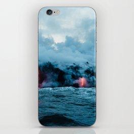 Vulcano ocean iPhone Skin