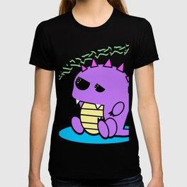 Muki the tired yami kawaii pastel dinosaur T-shirt