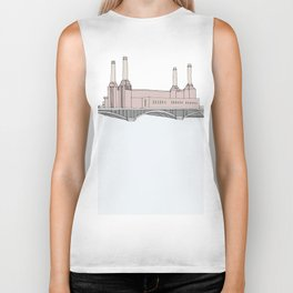 Battersea Power Station London Biker Tank