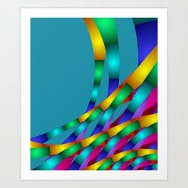 fractal geometry -131- Art Print