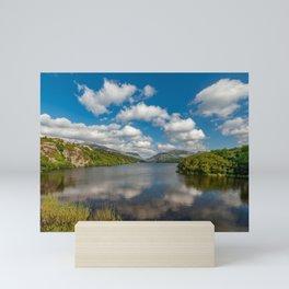 Lake Padarn Llanberis Wales Mini Art Print