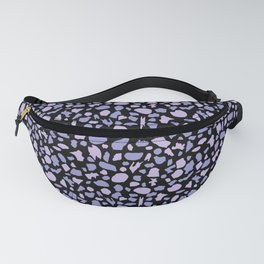 Terrazzo in Lilacs and Black Fanny Pack