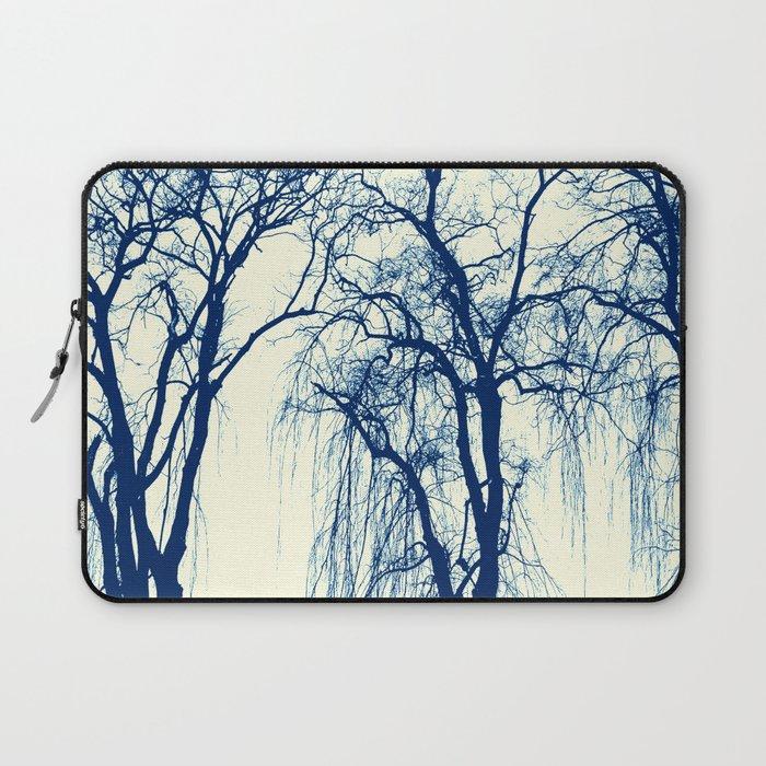 BLUE TREES Laptop Sleeve