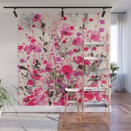 Floral Expression 2g by Kathy Morton Stanion Wall Mural