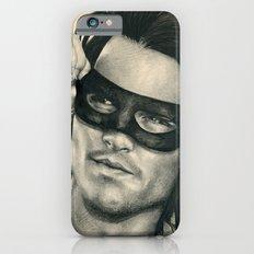 Don Juan de Marco - Johnny Depp Traditional Portrait Print iPhone 6s Slim Case