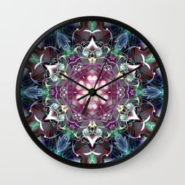 Mandalas from the Voice of Eternity 28 Wall Clock