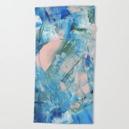 Paint Strokes Beach Towel