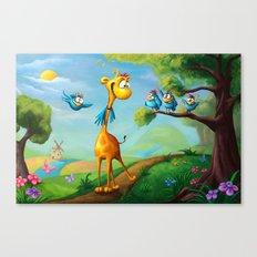 Giraffraf Canvas Print