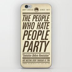 Don't Vote Now! iPhone & iPod Skin