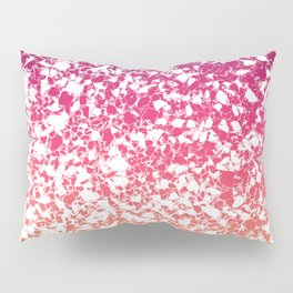 Terrazzo in pink, purple and yellow colors Pillow Sham