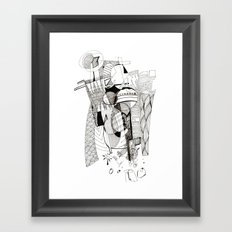 I feel too much Framed Art Print