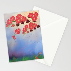 Year of the Rooster (part 2) Cherry Blossoms Stationery Cards