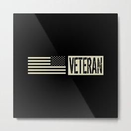 Veteran Metal Print
