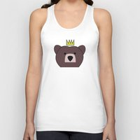 be brave Tank Tops featuring Brave by Kingdom.of.the.Geek