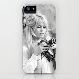 brigitte-bardot-birthday-style iPhone Case