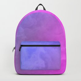 Smoke - pink and purple Backpack