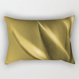 Succulent Plant In Golden Glow #decor #society6 #buyart Rectangular Pillow