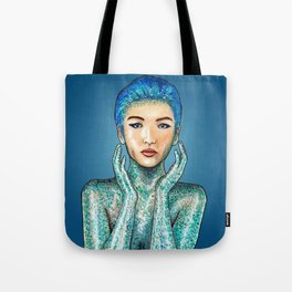 Glitter Girl Tote Bag