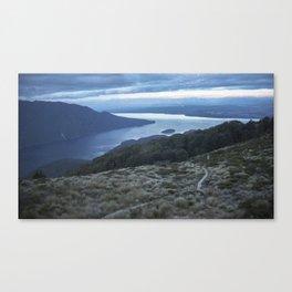 //01-04 LAKE TE ANAU Canvas Print