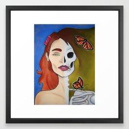 Model Behavior Framed Art Print
