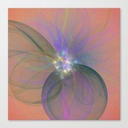 Fairy Blossom Fractal Canvas Print