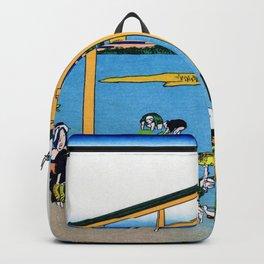 Mt,FUJI36view-Nobotonoura - Katsushika Hokusai Backpack