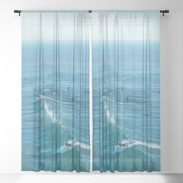 Huntington Beach Sheer Curtain