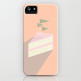 Always room for cake iPhone Case