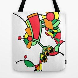 Print #10 Tote Bag