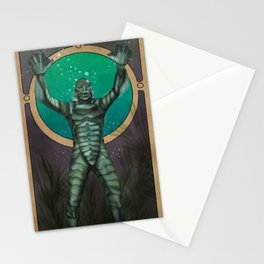 Creature From the Black Lagoon Nouveau Stationery Cards