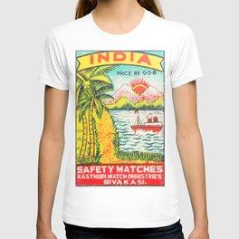Old Matchbox label #7 T-shirt