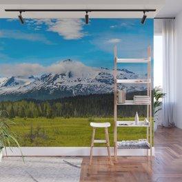Bear_Creek Mountain Glacier II - Alaska Wall Mural