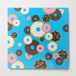 Donut rain Metal Print