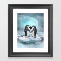 Listen Hard (Penguin Dreams) Framed Art Print