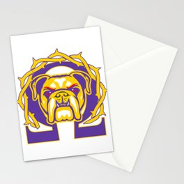 Men's Omega Que Dawg  Psi Phi Purple Gold Fraternity Stationery Cards