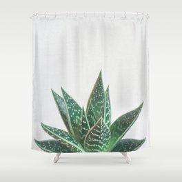 Aloe Tiki Shower Curtain