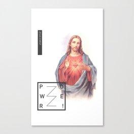 Jesus Christ - POWER Canvas Print